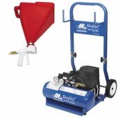 Air Compressors & Hopper Guns