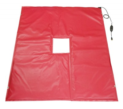 Flexotherm Heated Utility Pole Ground Thaw Blanket |  6' x 6' | 158°