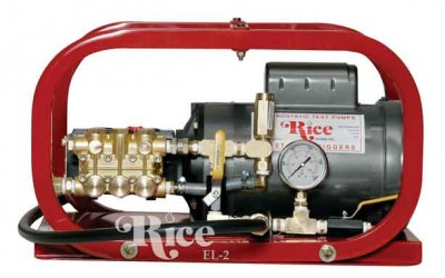 Rice Hydro EL3 Hydrostatic Test Pump | 1,500 PSI